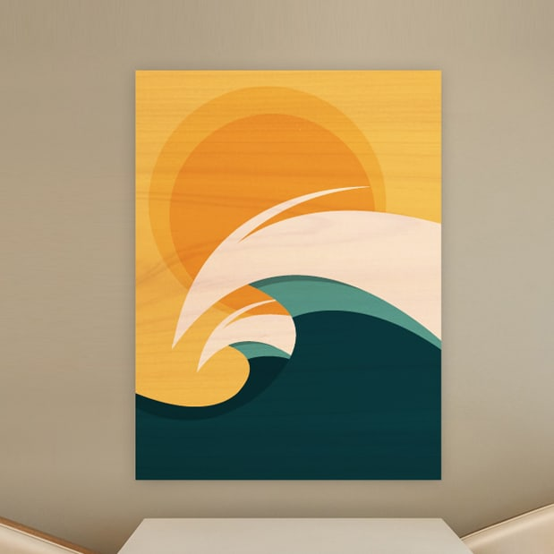 Surf Decor Wood Wall Sculptures Surf Artwork By Shaun Thomas