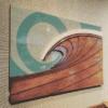 Surf Artwork - Surf Art, Surf Artist, Wood Waves, Surfboard Decor, Wood Wall Sculptures, Wood Beach Art, Wave Artist, Beach Decor, Surfshop
