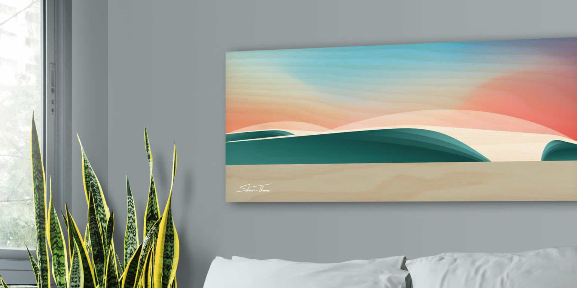 surf art canvas prints | Wooden wave art