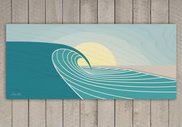 Surf art prints on canvas