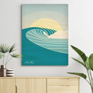 Surf art prints