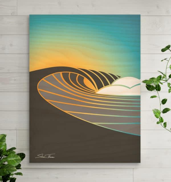 Surf art prints on canvas