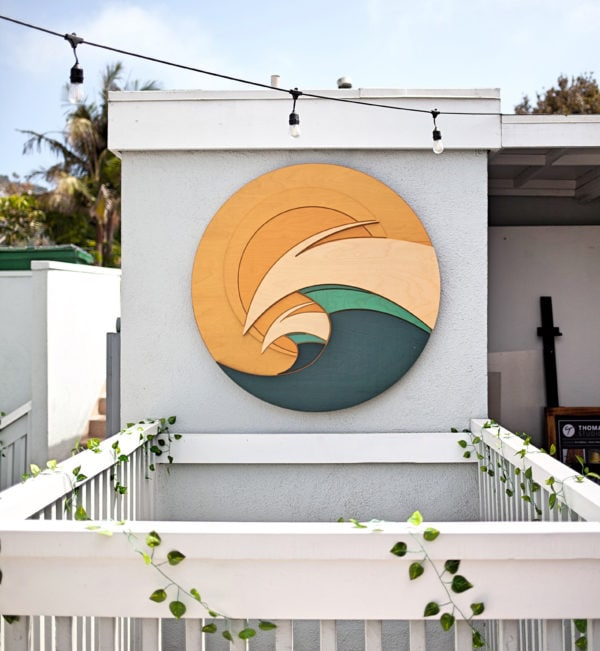 Surf Wall Art | coastal wall sculptures