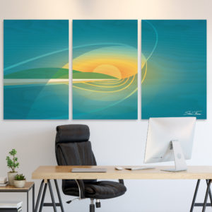 Surf Wall Art | san diego surf art | beach artwork decor