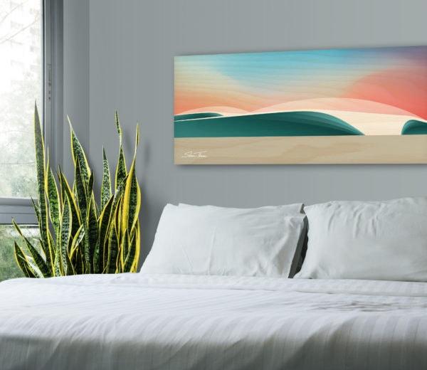 san diego surf art prints
