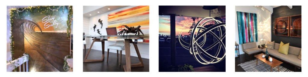 laguna beach art gallery, shaun thomas of thomas studios
