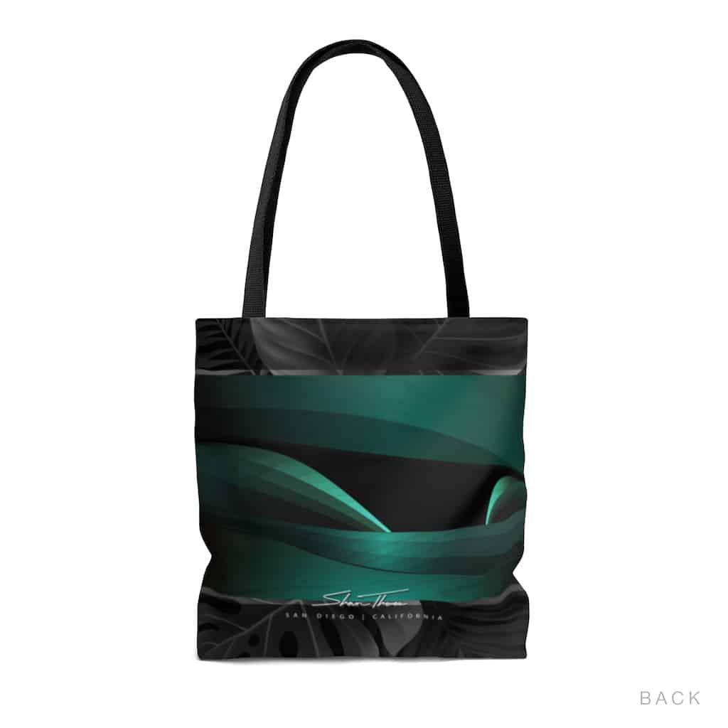 surf bag, wave art, shaun thomas accessories